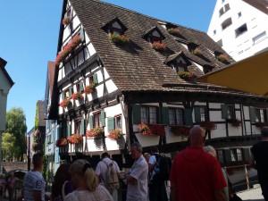 Ulm, das schiefe Haus