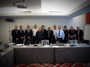 Die Vertreter der nationalen Verbände bei der FIM. Für Deutschland Michael Weiß