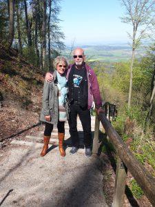 M & M auf der Burg Hohenzollern